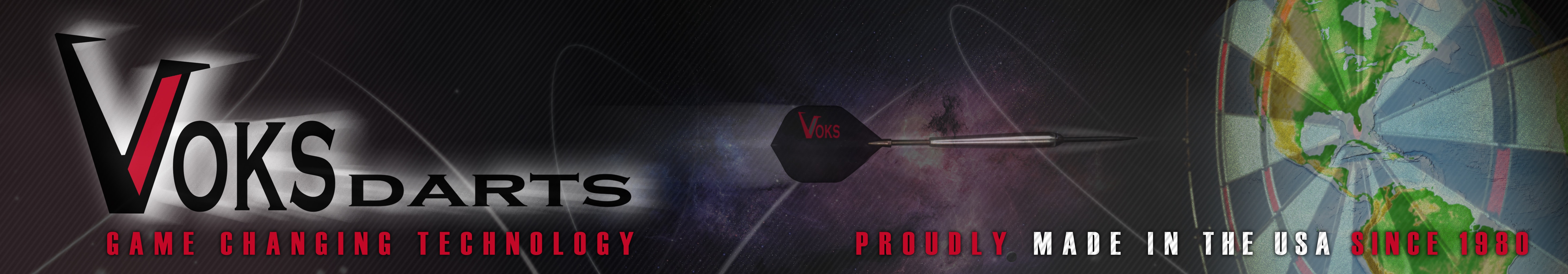 www.voksdarts.com USA American Made Darts!