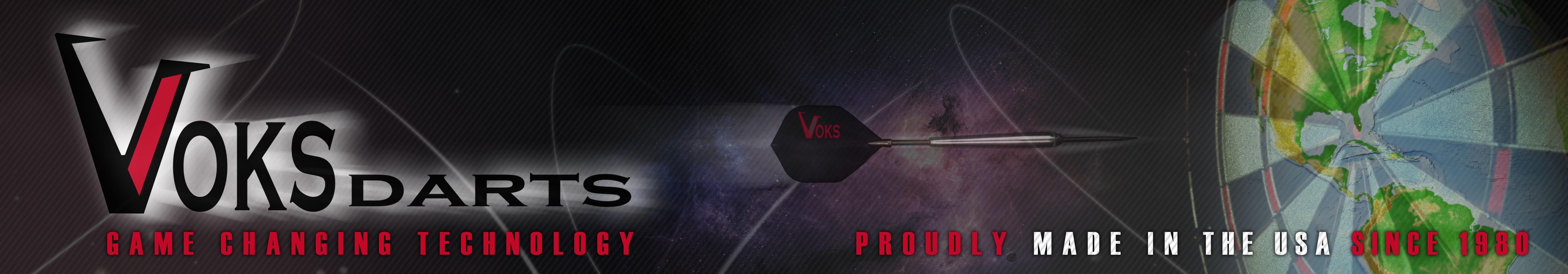 www.voksdarts.com USA American Made Darts!